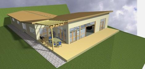 Building Design Plans 143 East view